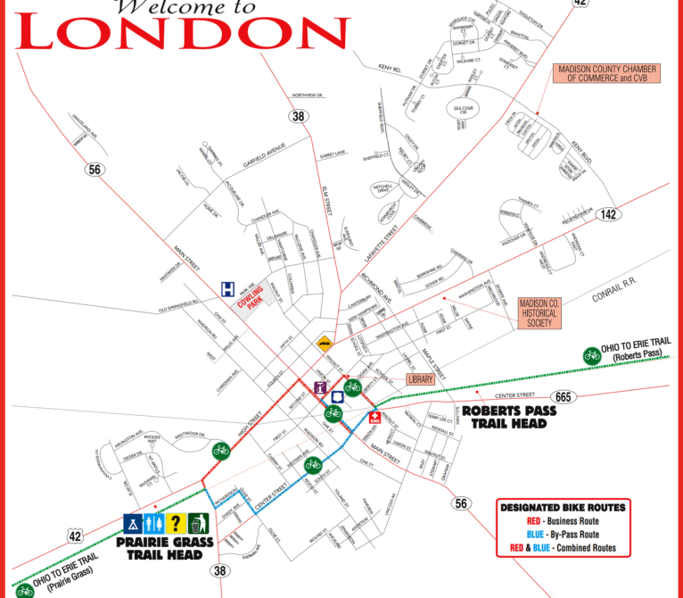 Map Of Downtown London.Downtown London Fmcpt